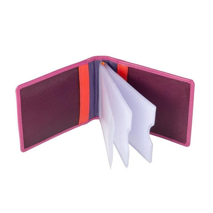 Porte cartes de crédit unisexe en cuir multicolore Dudu | La Redoute Grand Escompte Acheter En Ligne Pas Cher 5I5NT7Ie