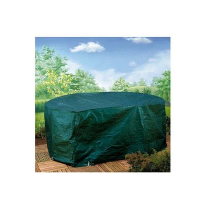 housse premium pour salon de jardin rectangulaire 245 x 120 x 80 cm vert h j habitat et. Black Bedroom Furniture Sets. Home Design Ideas