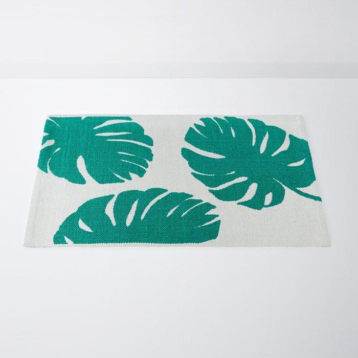 Badezimmerteppich Brazilia Aus Reiner Baumwolle Weiss Grun La