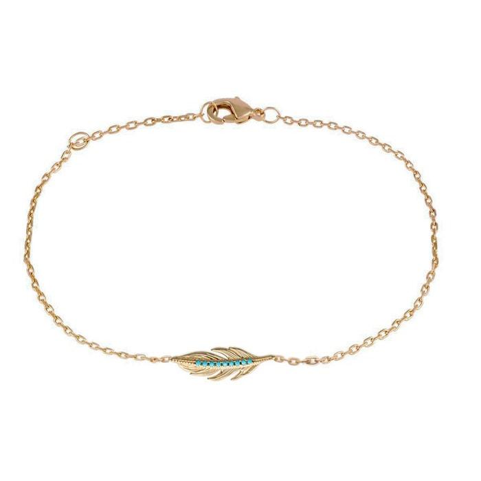 Bracelet pour femme 'plume' Lorenzo R | La Redoute Rabais Moins Cher Pas Cher Large Gamme De Escompte Combien OKKG6k3