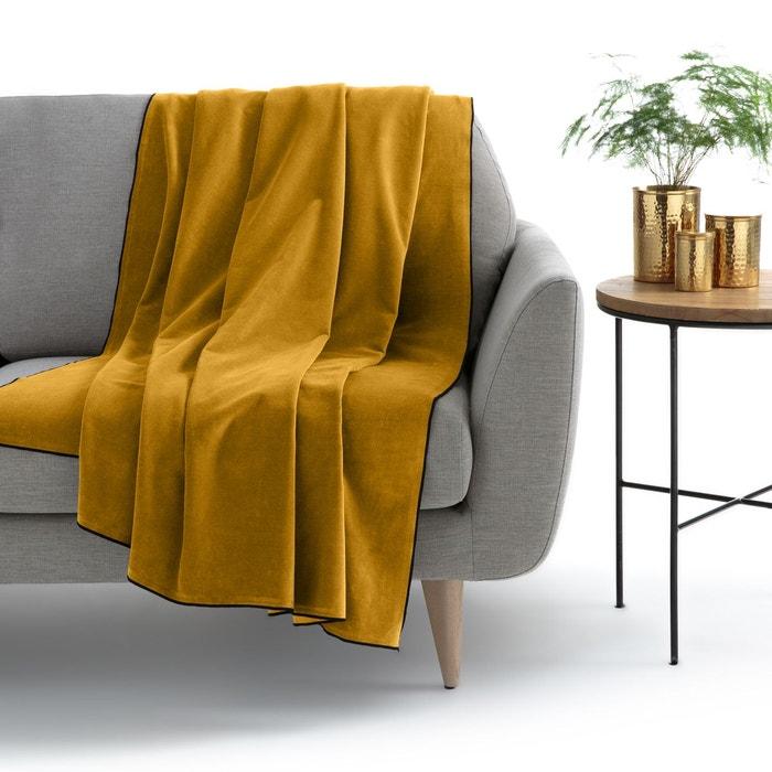 plaid plaid de canap fourrure la redoute interieurs. Black Bedroom Furniture Sets. Home Design Ideas