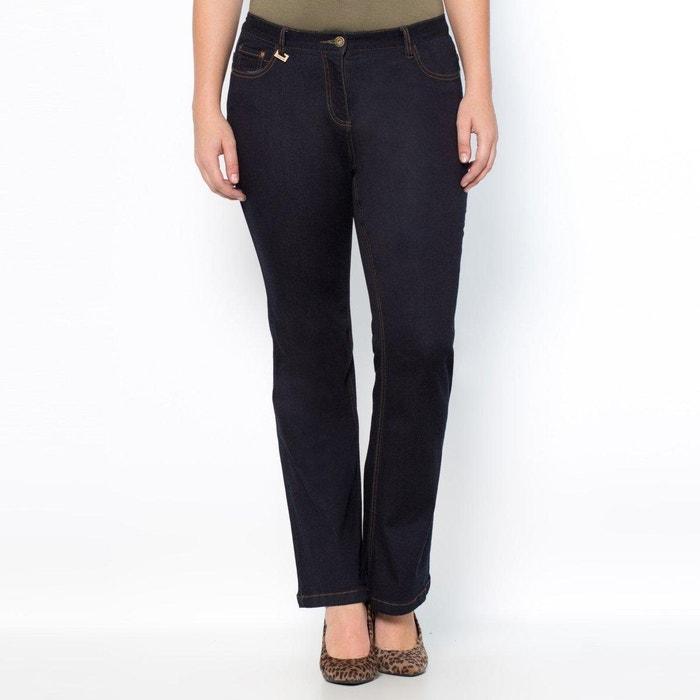 "afbeelding Stretch bootcut jeans ""slank silhouet"" binnenpijplengte 78 cm CASTALUNA"
