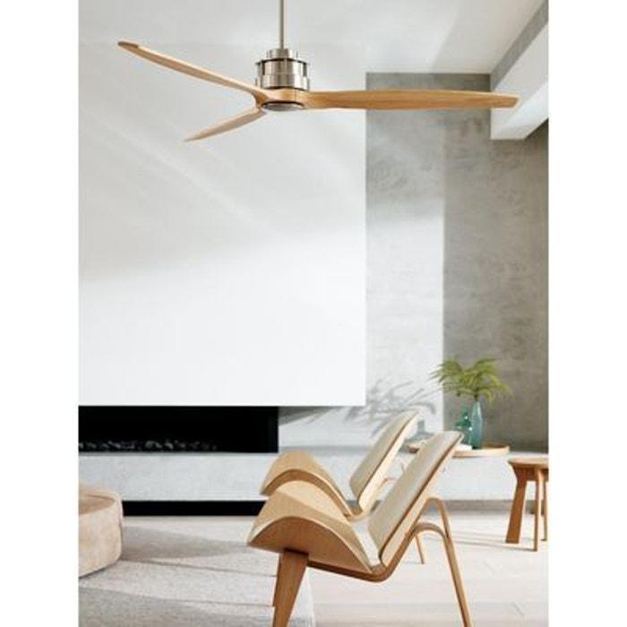 Ventilateur de Plafond Akmani 152 cm Chromé Teck 210506