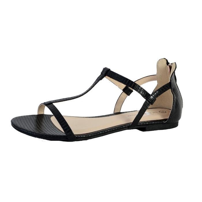 Sandales tdf2533 noir noir The Divine Factory