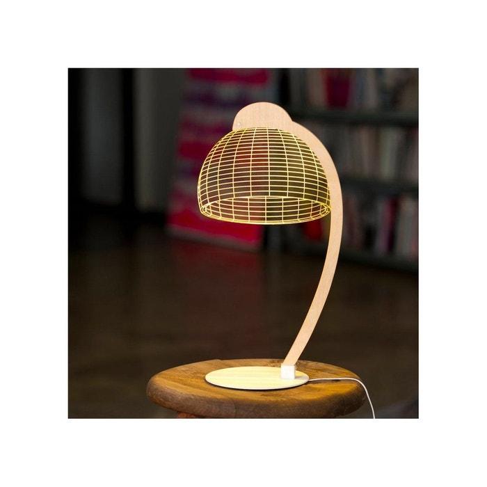 Lampe Bulbing Cheha Dome 3d Lumiere Led Transparent Studio Cheha