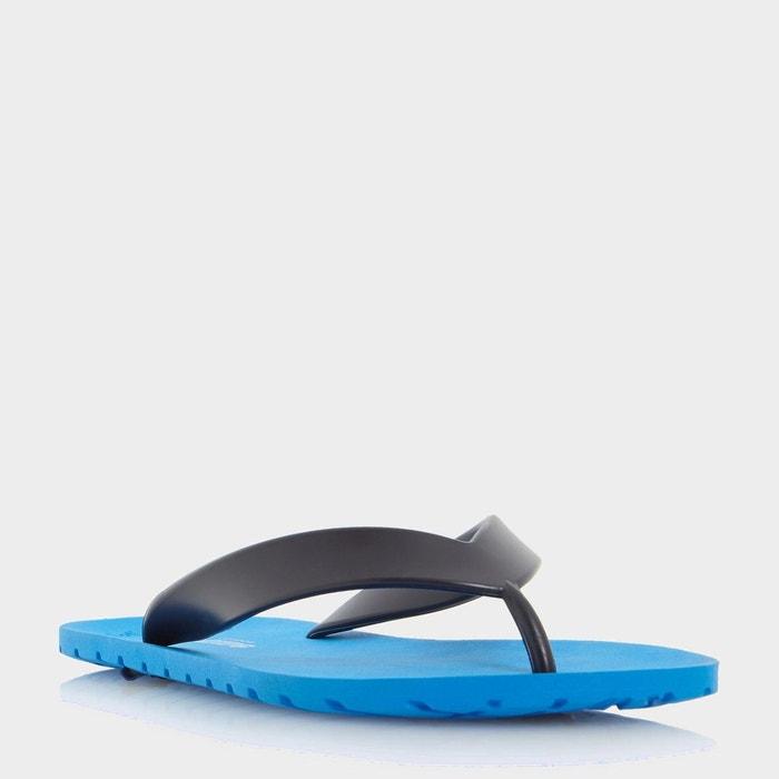 Rubber flip flop - islander  bleu synthetic Dune London  La Redoute