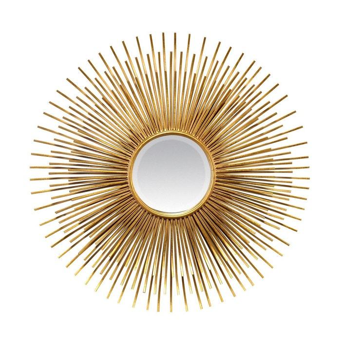 Miroir soleil 87cm or emde premium la redoute for Miroir emde deco