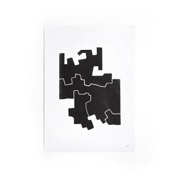 afbeelding Affiche motief 2 in zwart en wit, Bialik AM.PM.