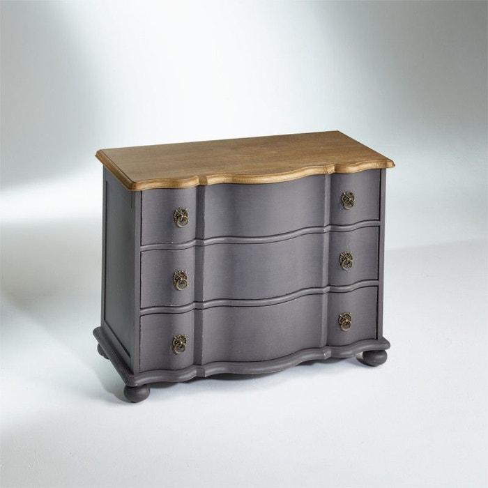 Commode plateau ch ne chaumont shabby grise patine - Robin des bois meubles ...
