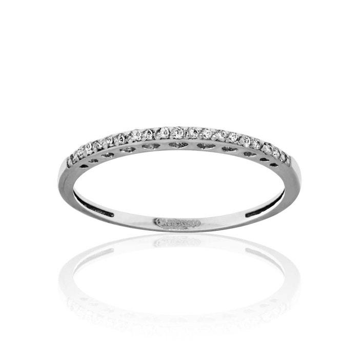 Bague or 375/1000 diamant blanc Cleor | La Redoute Moins Cher En Ligne Original En Ligne 8akgEz6S7p