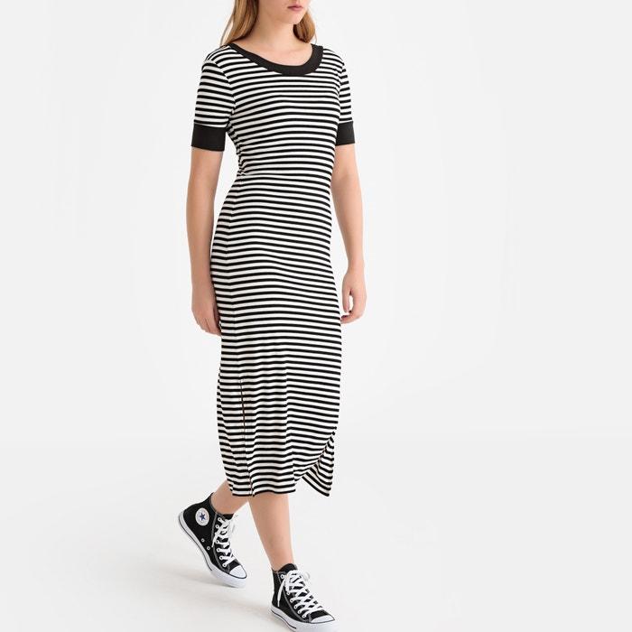 size 40 c6f18 f9920 Abito T-shirt lungo a righe