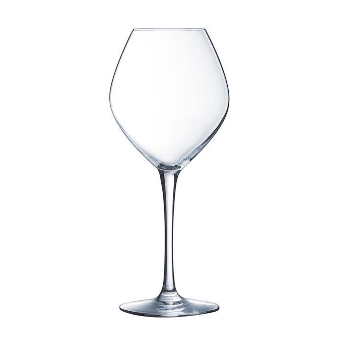 verre vin blanc 35 cl cristal d 39 arques wine emotions vendu par 6 transparent luminarc la. Black Bedroom Furniture Sets. Home Design Ideas