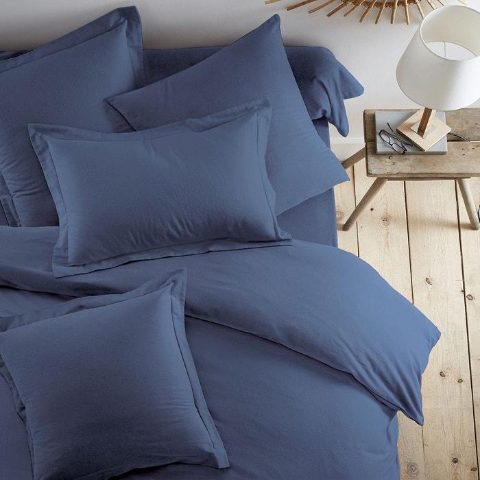 taie d 39 oreiller flanelle scenario la redoute. Black Bedroom Furniture Sets. Home Design Ideas