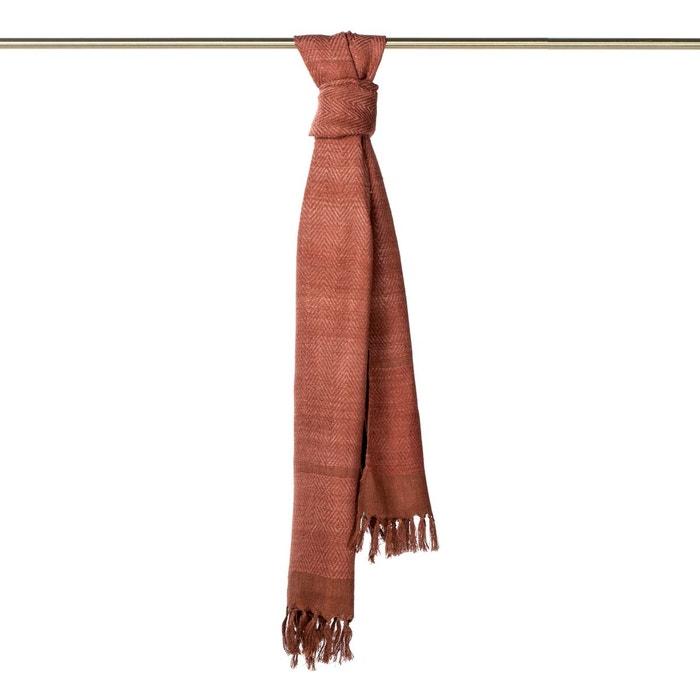 Foulard soie tasar silk naturel Madura | La Redoute Extrêmement Rabais QF3t5L