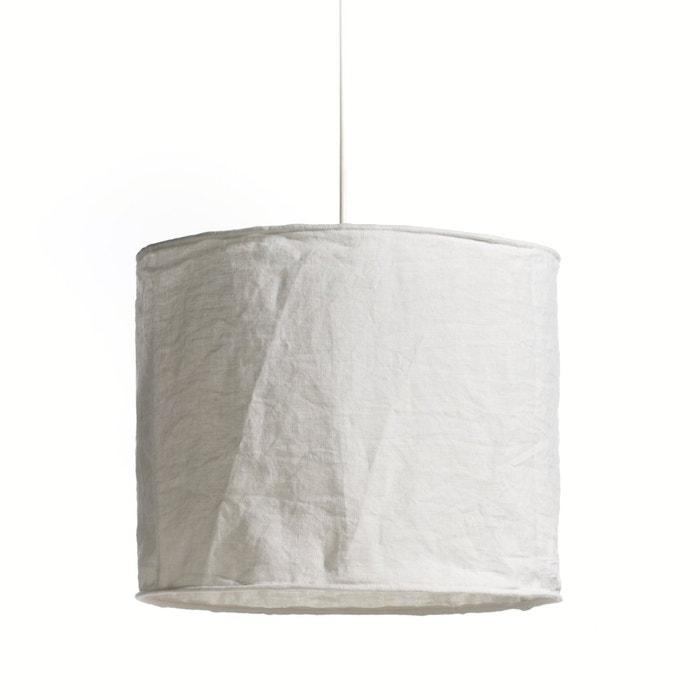 afbeelding Hanglamp in gekreukt linnen, Thade La Redoute Interieurs