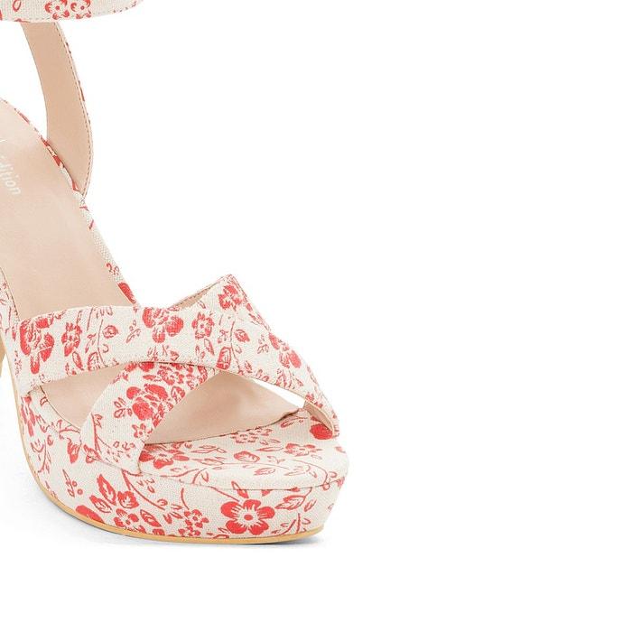 Sandales coton La Redoute Collections