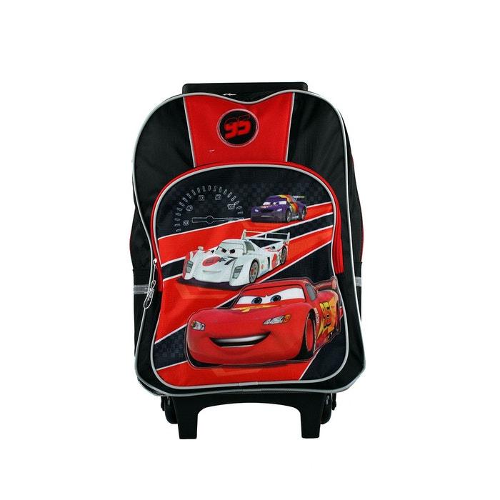 Sac à dos à roulettes cars 20 litres rouge Cars   La Redoute Haute Qualité super Nouvelle Marque Unisexe En Ligne U6K7Wh