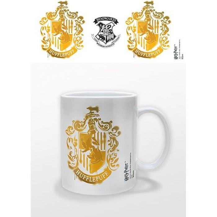 Mug Harry Crest Potter Hufflepuff Stencil thCQrsd