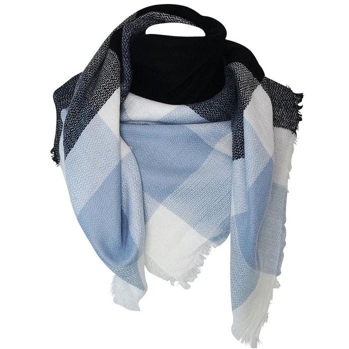 Echarpe carréxxl e et bleu Chapeau-Tendance   La Redoute 96708406a41