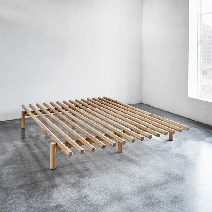 lit futon pace en pin naturel naturel terre de nuit la redoute. Black Bedroom Furniture Sets. Home Design Ideas