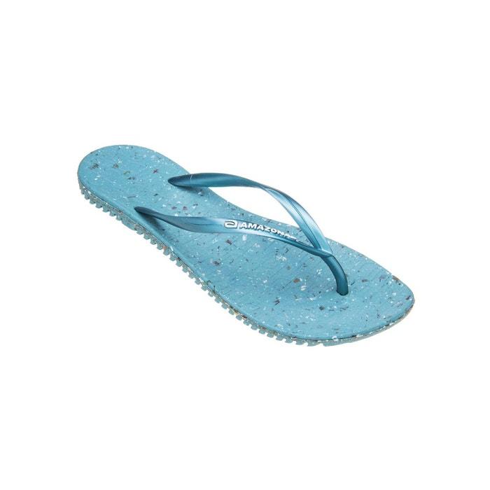 Tongs femme eco flip flop turquoise  turquoise Amazonas  La Redoute