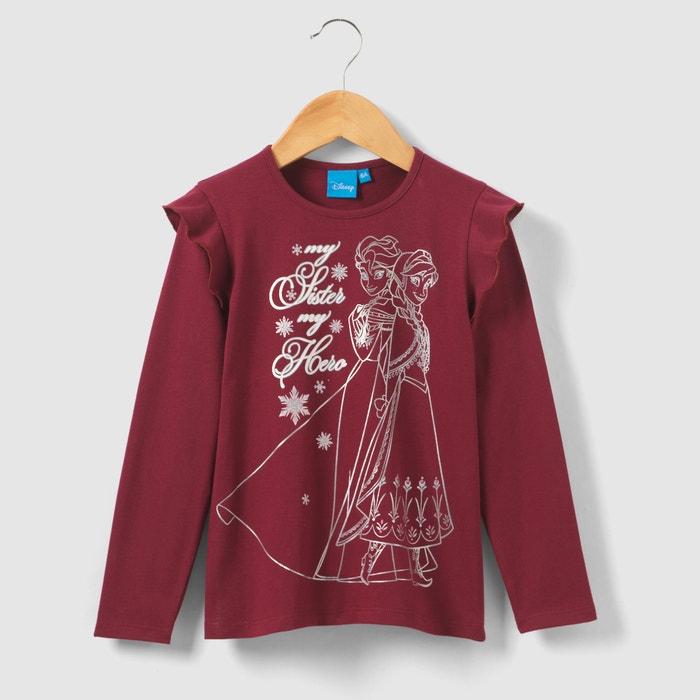afbeelding Bedrukt T-shirt, 3 - 12 jr LA REINE DES NEIGES