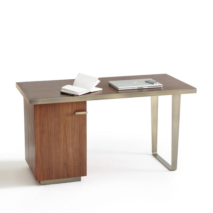 Gaston Retro Walnut Desk  La Redoute Interieurs image 0