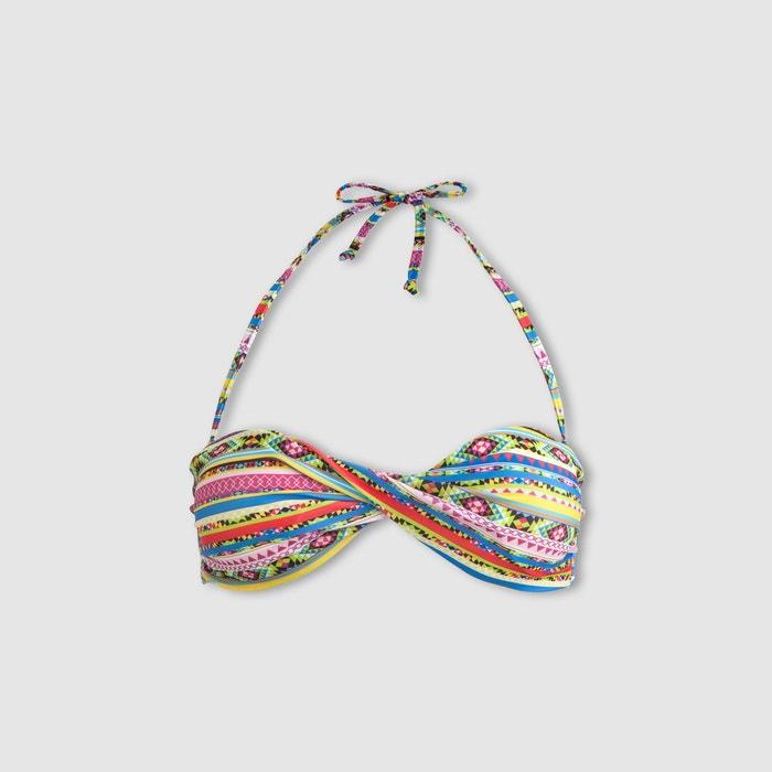 Redoute con Sujetador banda Collections La giro tipo bikini de estampado Cd447w