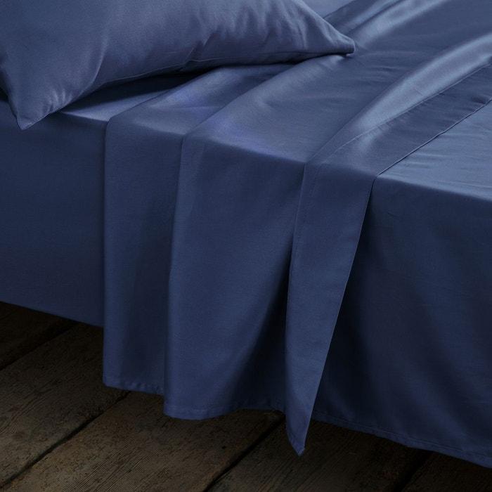 drap satin de coton tissage uni la redoute interieurs la redoute. Black Bedroom Furniture Sets. Home Design Ideas