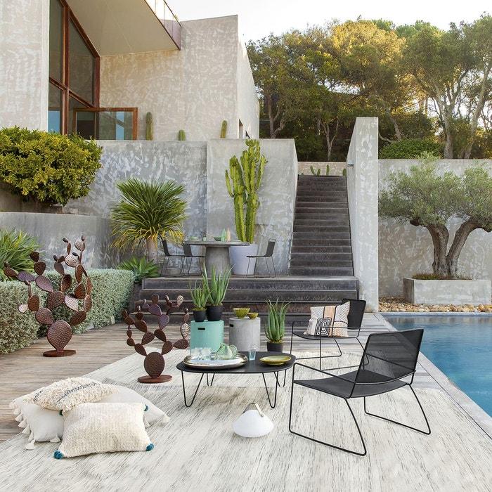 Fauteuil de jardin wallace am pm la redoute for Deco jardin soldes