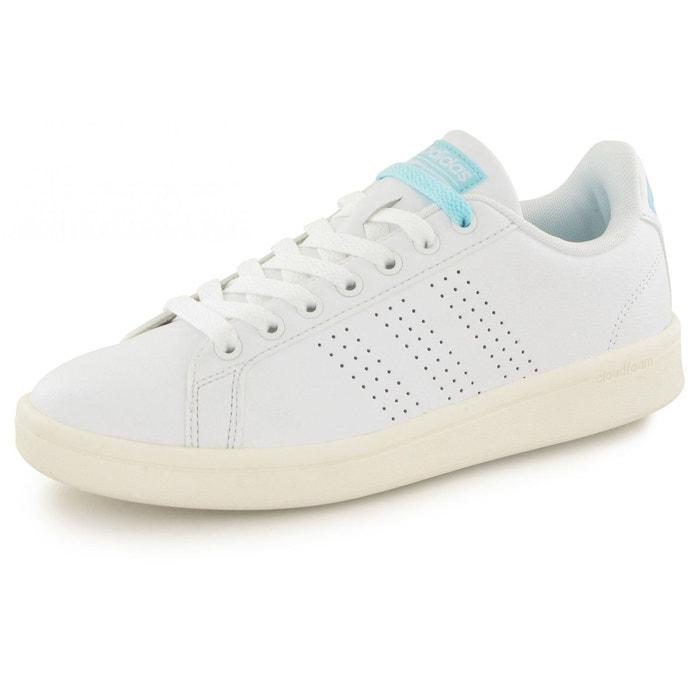 Baskets adidas cloudfoam advantage blanc femme blanc Adidas En Vente En Ligne authentique Vue Jeu Site Officiel Visiter Le Nouveau AFoujRguW