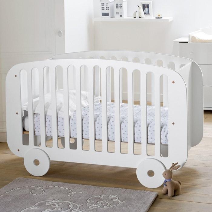Cama para bebé, modelo carrinho, estrado ajustável 3 alturas La Redoute Interieurs