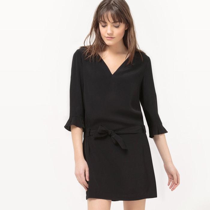 DrapedBelted Dress  SEE U SOON image 0