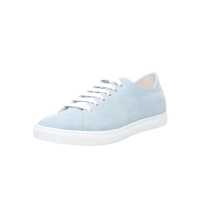 Sneaker nubuck en bleu clair bleu clair Shoepassion confortable indd1w