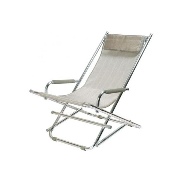 chaise longue la chaise longue argent ajania gris la chaise longue la redoute. Black Bedroom Furniture Sets. Home Design Ideas