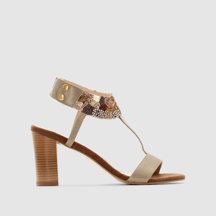 Sandales cuir ANNE WEYBURN