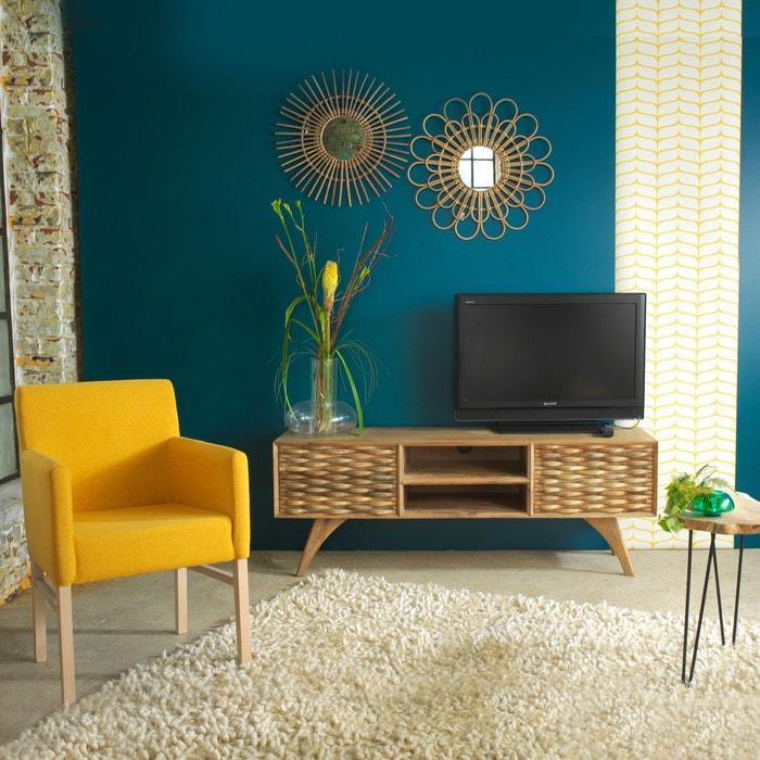fauteuil moderne pieds bois massif ti42j en soldes. Black Bedroom Furniture Sets. Home Design Ideas