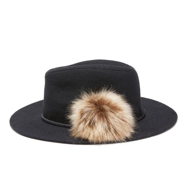 Sombrero de fieltro con pompón  La Redoute Collections image 0