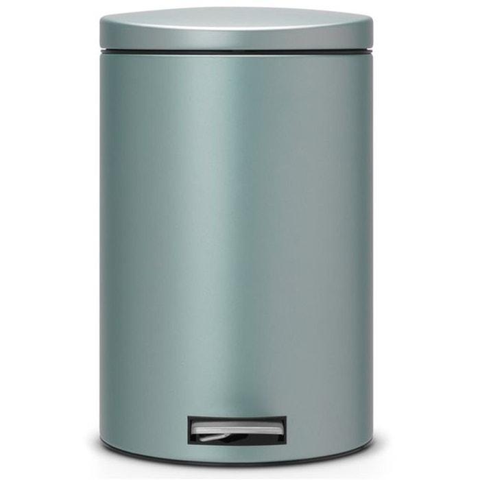 poubelle p dale brabantia motioncontrol 20 l gris brabantia la redoute. Black Bedroom Furniture Sets. Home Design Ideas