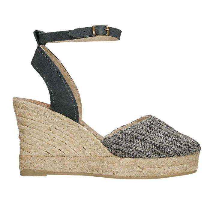Sandale lia gris Polka Shoes Moins Cher En Ligne 56lf9
