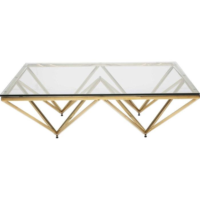 Table Basse Kare Design.Table Basse Network Doree 105x105cm