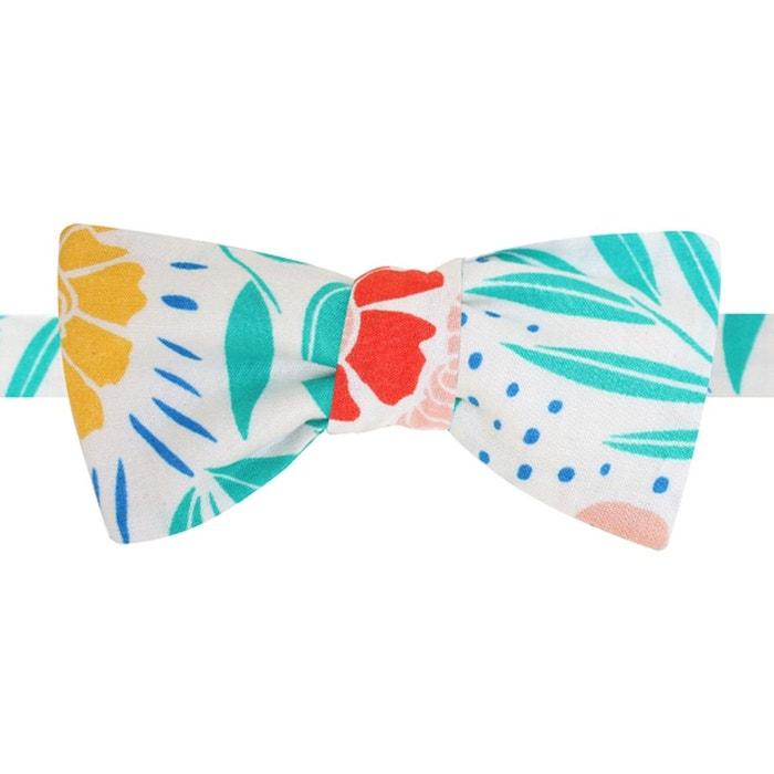 Noeud papillon en coton à fleurs tropicales multicolore Ikonizaboy   La Redoute 100% Original Pas Cher En Ligne 2IhCfACDi6