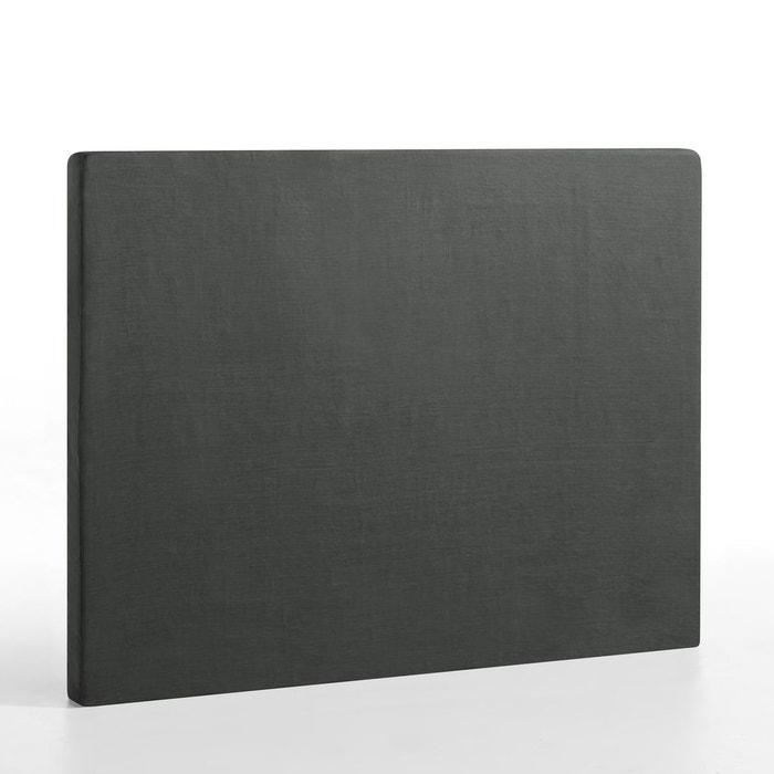 housse de t te de lit pur lin stadia hauteur 120 am pm la redoute. Black Bedroom Furniture Sets. Home Design Ideas