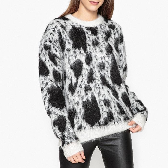afbeelding Bicolor trui in gemengd mohair CARVEN