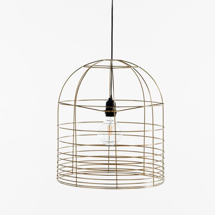 afbeelding Hanglamp in metaal, zonder elektrische kabel, Ø40 cm BRIGITTE BARDOT X LA REDOUTE