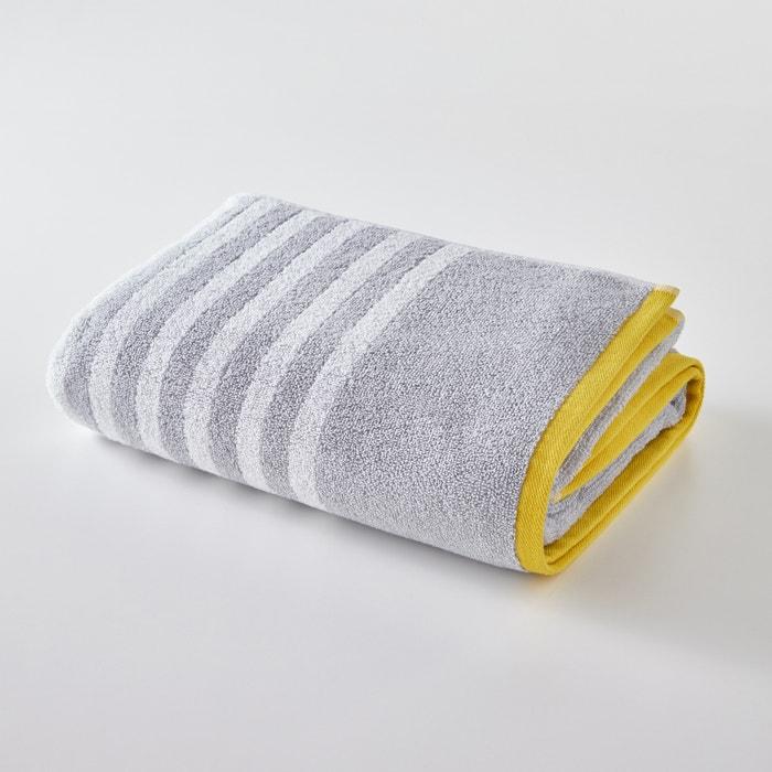 SCENARIO Striped Terry Cotton Hand Towel  La Redoute Interieurs image 0