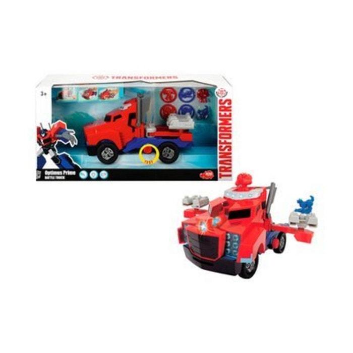 dickie toys la voiture transformers optimus prime battle truck voiture de jeu rouge dickietoys. Black Bedroom Furniture Sets. Home Design Ideas