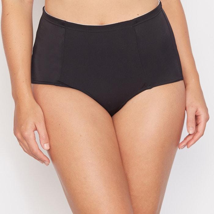 8e1a5036a6679 High waist bodyshaping mix and match bikini bottoms , black, La Redoute  Collections Plus | La Redoute