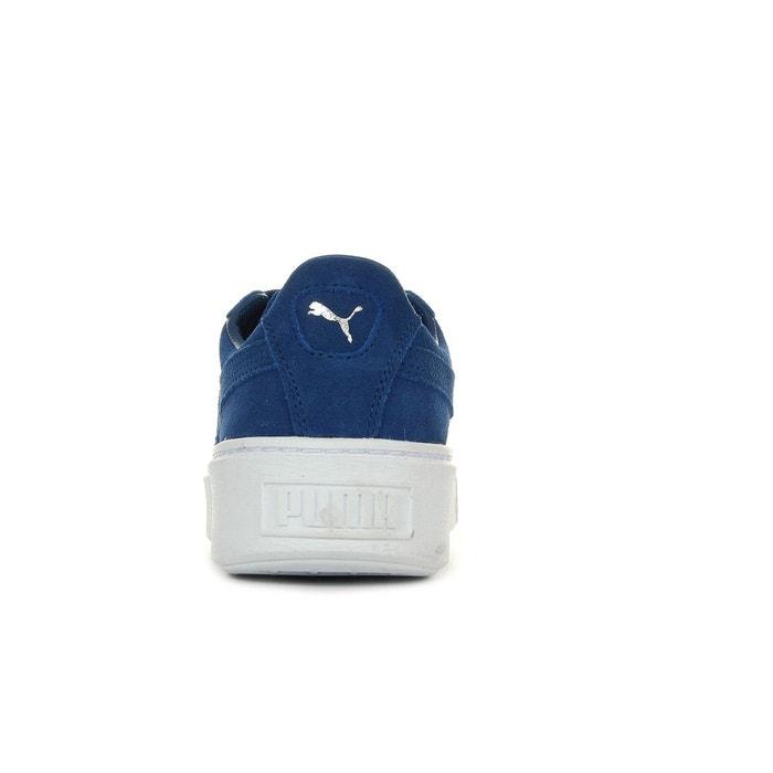 Baskets femme suède creepers core (no r) bleu Puma