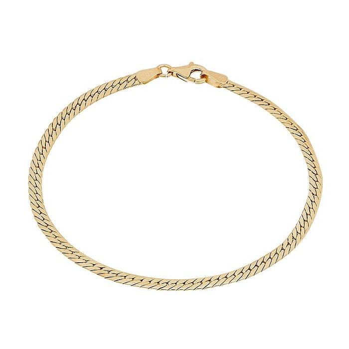 Acheter À Vendre Bracelet or 375/1000 dore Cleor | La Redoute Sneakernews En Ligne Grande Vente À Vendre confortable vubK6F3d